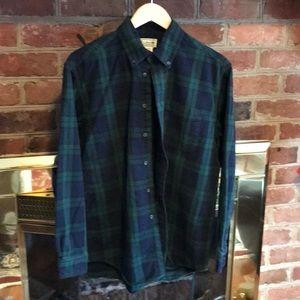 LL Bean Men's Flannel Shirt